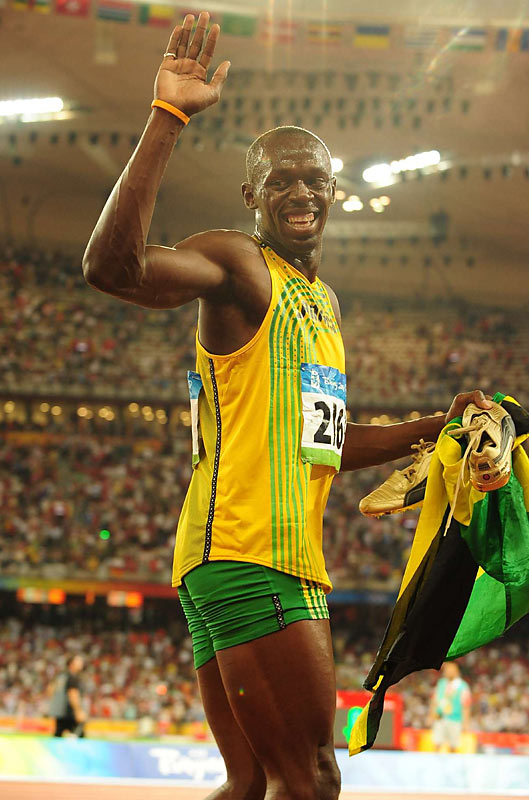 Scary thought for all other sprinters: Bolt's specialty has been the 200 meters, which he will be a heavy favorite to win next week in what would be the first men's Olympic sprint double since Carl Lewis in 1988.