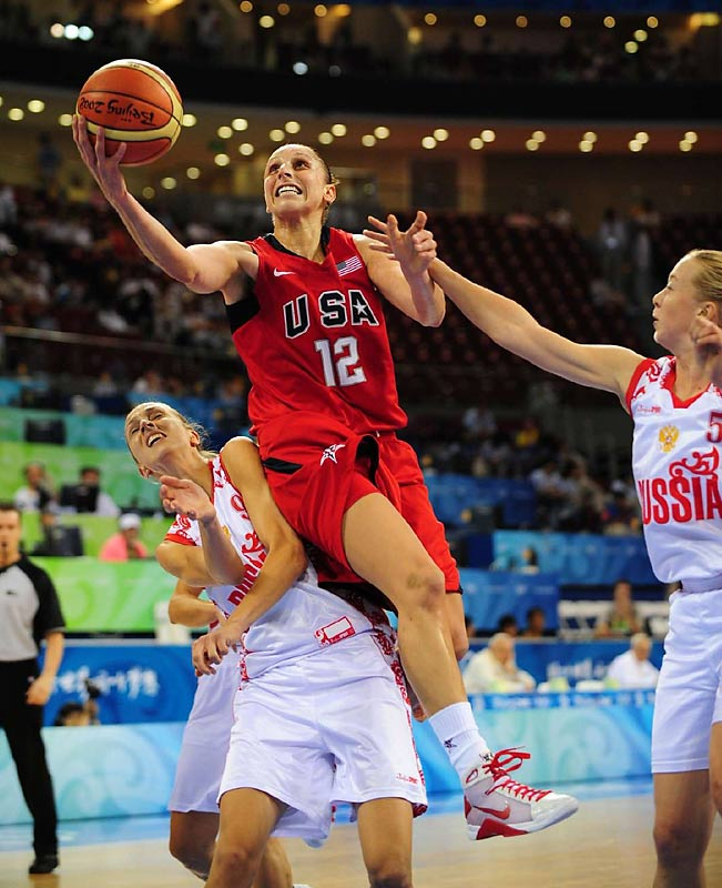 Diana Taurasi and the U.S. women overcame a halftime deficit against Russia en route to advancing to the gold medal game.