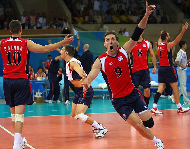 Ryan Millar and the U.S. volleyball team won the gold on Sunday, defeating defending champion Brazil to complete a perfect run through a tournament shadowed by a grisly attack on the in-laws of the team's coach at a Beijing tourist site.