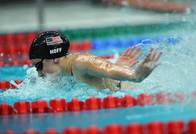 Katie Hoff couldn't match her winning performance in the 400 IM at the U.S. trials as she finished third in Beijing.
