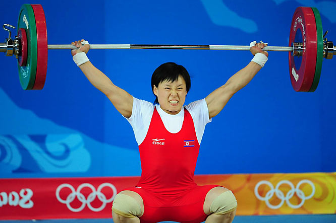 O Jong Ae of North Korea earned a bronze in the women's 58kg weighting class.