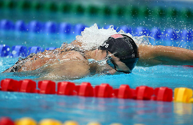 In winning the 200m freestyle, Phelps ran his career Olympic total to nine golds.