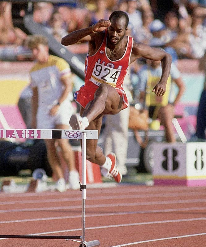 In his first International meet -- the 1976 Montreal Olympics -- Moses won the gold in the 400-meter hurdles, setting a world record of 47.64 seconds. Though he was denied the chance to repeat with the U.S. boycott of the 1980 Games, he managed to win the gold again in 1984. Between 1977 and 1987, he dominated his event, winning 122 consecutive times and setting the world record four times.