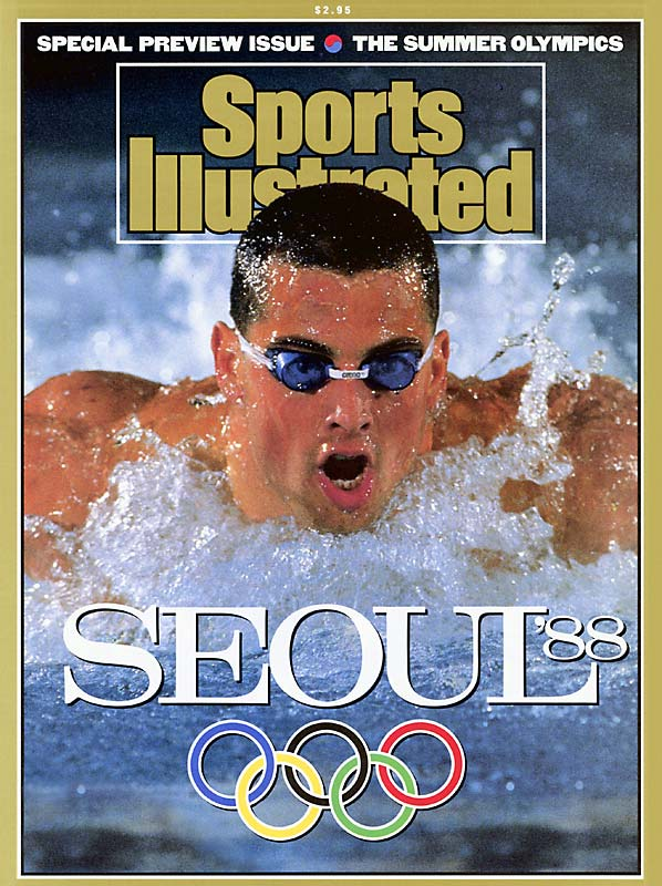 An NCAA water polo champion, Biondi went on to become a three-time Olympic swimmer who won 11 medals -- the first coming in 1984, and his last in 1992. At the 1988 Games in Seoul alone, he struck gold five times in the 50- and 100-meter freestyle, 4x100- and 4 x 200-meter freestyle relays and the 4x100-meter medley.