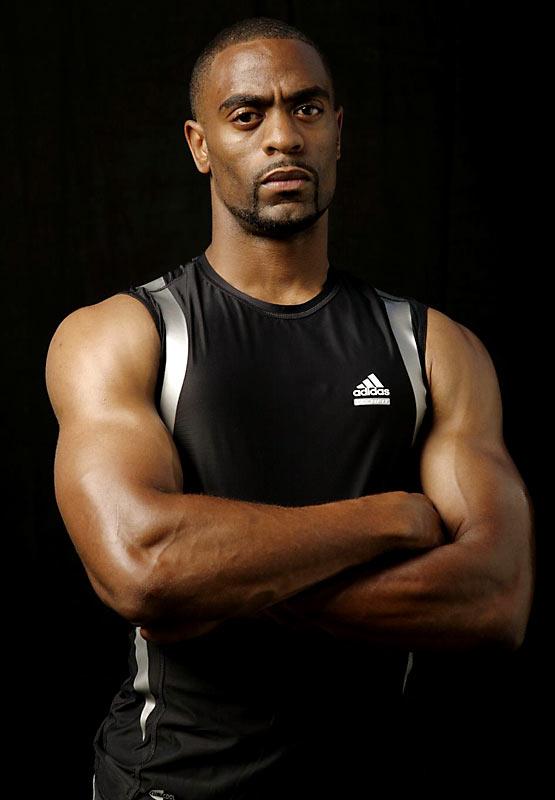Sprinter Tyson Gay.