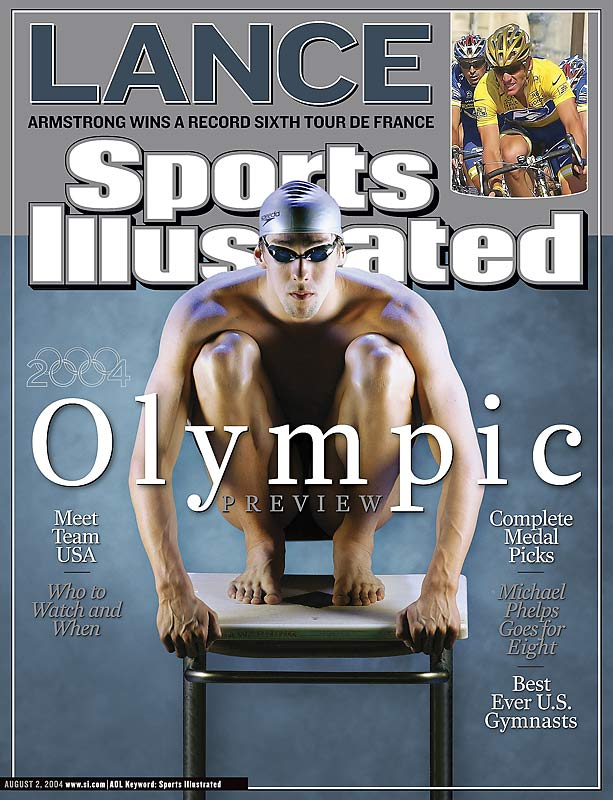 Though Michael Phelps strove for eight golds in Greece, he settled for six golds and two bronze.