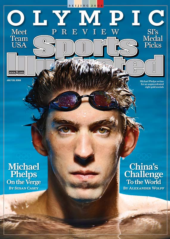 Seeking circular closure to his goal for eight golds, Michael Phelps emerged as the face of the Beijing Olympics prior to the opening ceremonies.