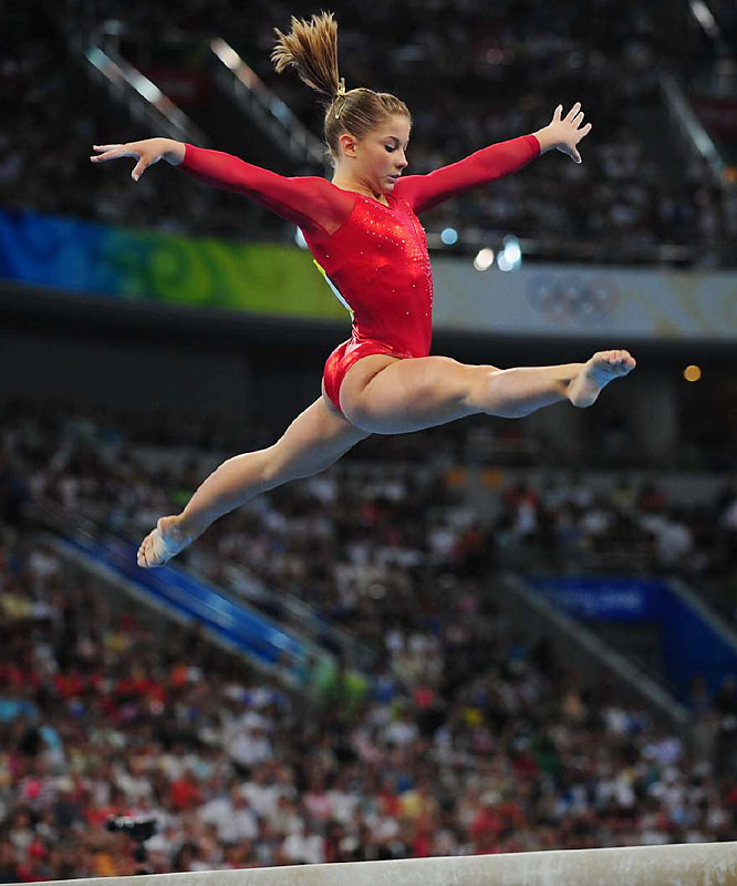 """""""I just knew that I had to give the routine of my life,"""" Johnson said. """"I was pretty far behind, but I couldn't control that. I gave a great meet today."""""""