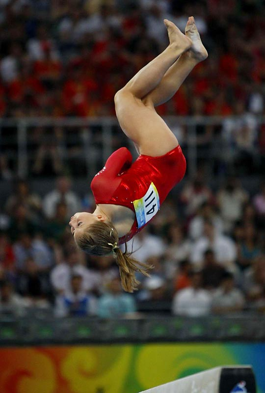 While her rival is best described as a polished performer with emotional flair, Johnson is an electrifying acrobat.