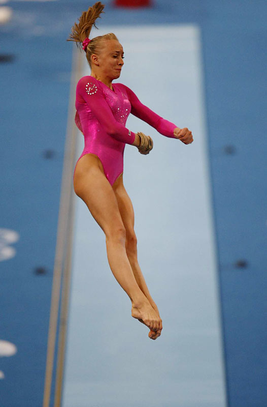 """""""Don't try to do anything better than you know how to do,"""" Nastia was told by her father before the event. """"Just do your routine."""""""
