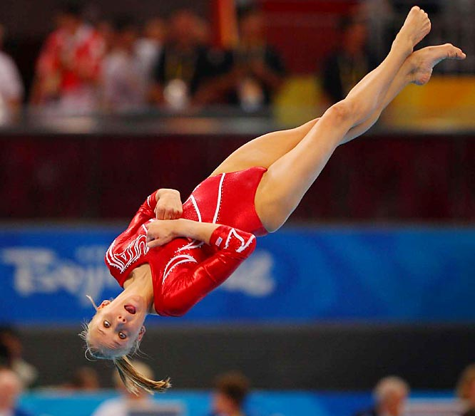 Nastia Liukin and her teammates had gone into the final exercise trailing China by a point.