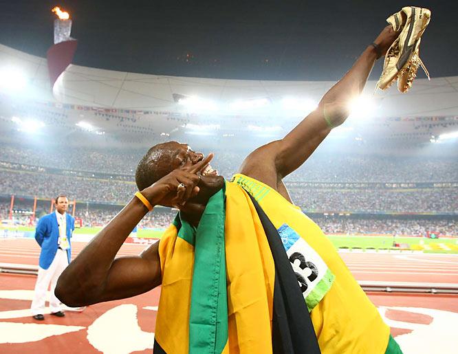 Bolt had run a 19.67 in the 200 earlier this year into a modest headwind.