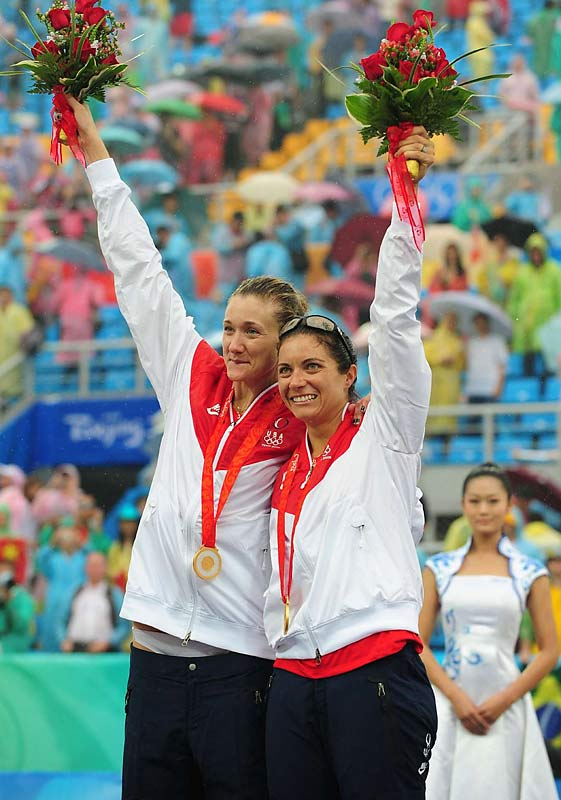 Looking to the future, the pair did not say whether they will be back for the London Games in 2012.
