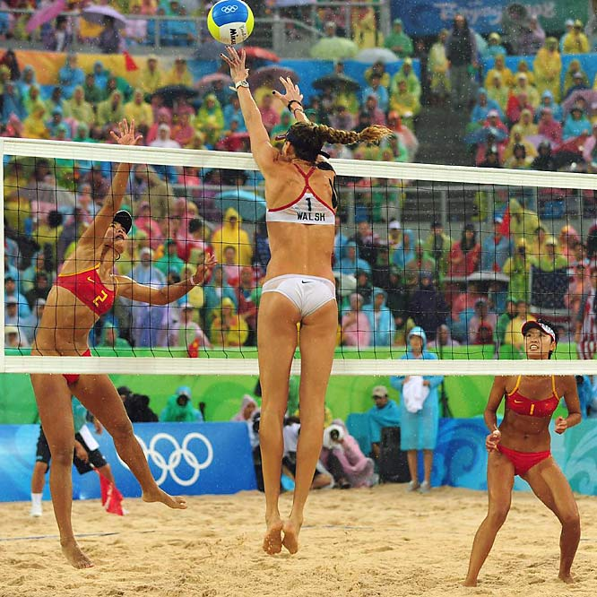 No other beach volleyball tandem has won 14 consecutive Olympic matches.