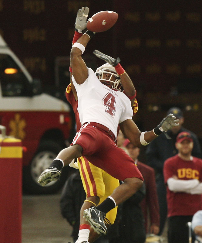 The conference's premier deep threat averaged 17.6 yards per catch in 2007. Gibson led the Pac-10 with 107.3 receiving yards per game.
