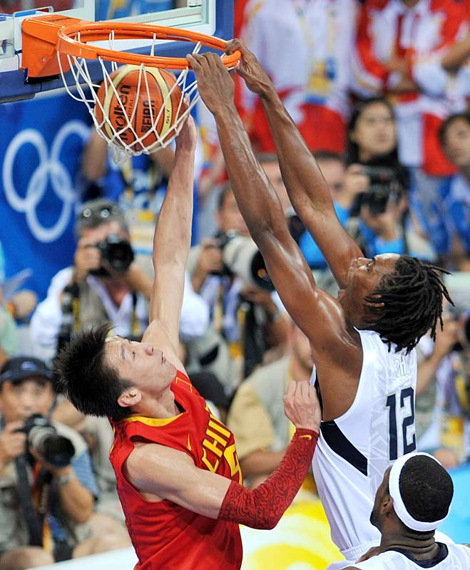 GAME 1 (China): Took only 13 minutes to grab a team-high 8 rebounds and score 9 points (4-for-4 from the field).<br><br>GAME 2 (Angola): Efficient again with 8 points (on 3-of-4 shooting) in 14 minutes.<br><br>GAME 3 (Greece): Scored 12 of his 18 points in the first half. Made 7-of-8 from the field.<br><br>GAME 4 (Spain): Grabbed seven rebounds in 17 minutes.<br><br>GAME 5 (Germany): Went 2-for-3 from the field to finish pool play at 17-of-21 (81 percent).<br><br>GAME 6 (Australia): Continued to impress with defense, added 10 points and 6 boards.<br><br>GAME 7 (Argentina): First Olympic double-double (11 points, 10 boards).<br><br>GAME 8 (Spain): Led team with 7 boards and converted 6-of-6 at the foul line.