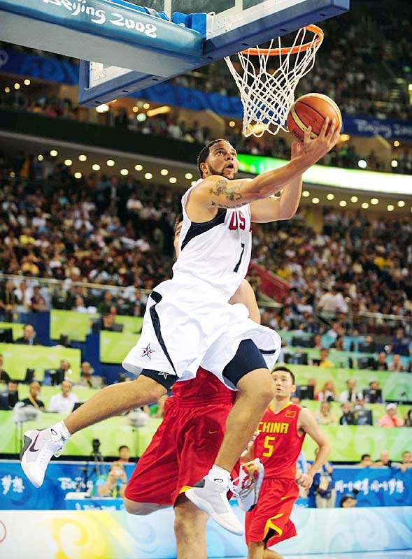 GAME 1 (China): Contributed 9 points and 4 rebounds in 19 minutes.<br><br>GAME 2 (Angola): Had two of the Americans' 13 steals, and chipped in 7 points and 4 assists.<br><br>GAME 3 (Greece): Had 5 points, 3 assists and 3 turnovers in 24 minutes.<br><br>GAME 4 (Spain): Scored 11 points in 20 minutes.<br><br>GAME 5 (Germany): Collected 9 points, 4 rebounds, 5 assists and 2 steals in 19 minutes.<br><br>GAME 6 (Australia): Beat the second-quarter buzzer with a three that gave U.S. a 12-point halftime lead.<br><br>GAME 7 (Argentina): Scored 6 points on pair of threes.<br><br>GAME 8 (Spain): His one trey came at a key time in the fourth quarter.