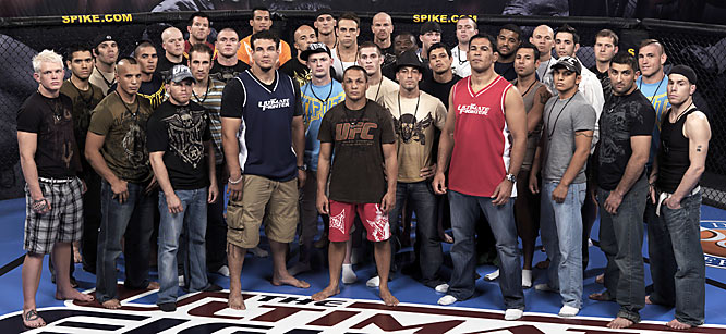 The entire cast of <i>The Ultimate Fighter 8</i>.