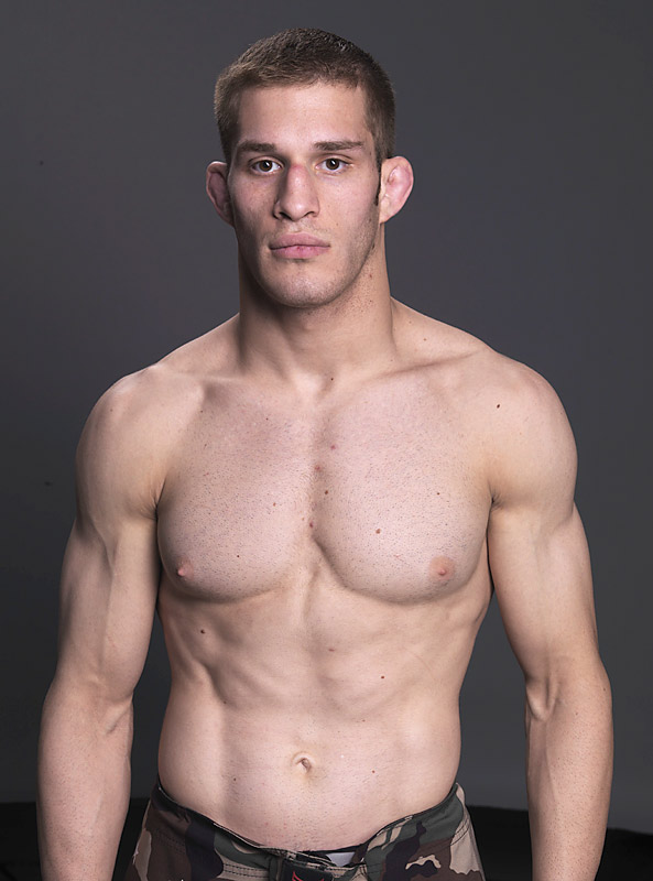 Age: 23<br>MMA Record: 5-0-0<br>Trains With:  Team Gracie Tampa<br>Location: Tampa, Fla.