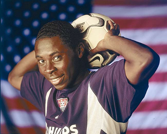 After Adu signed a $1 million deal with Nike at 13, one MLS official predicted he could be the first male American soccer icon by 17. Now, 19, Adu is one of the biggest stars on the U.S. Olympic soccer team and has been improving game-by-game with the senior U.S. team. He's on loan for the coming season to Monaco.