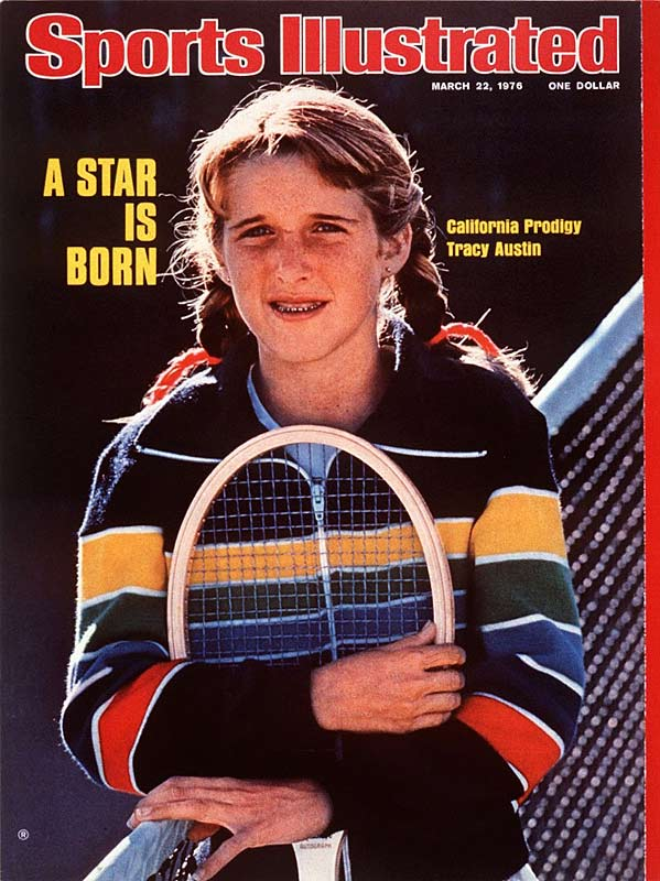 At 16, Austin became the youngest champion -- male or female -- in the history of the U.S. Open.  After winning again in 1981, she was forced into retirement with an injured back.