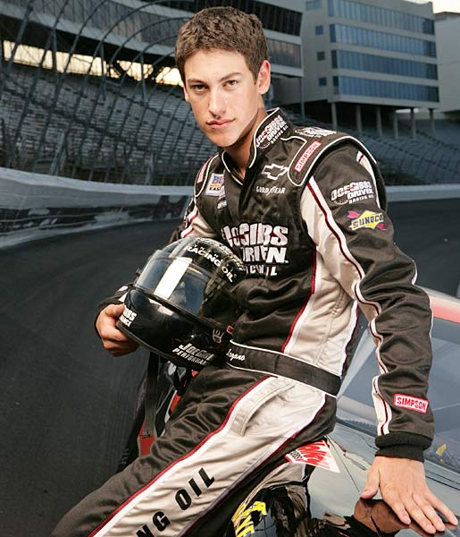 At 17, Logano spent 2007 competing in the NASCAR Grand National Division. He looked so impressive in winning three of his first four races there that he could make his Sprint Cup series debut before this season's over.