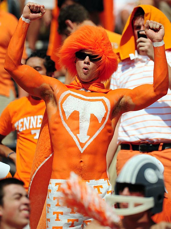 Match-ups with top rival Florida always bring out the best in Tennessee fans.