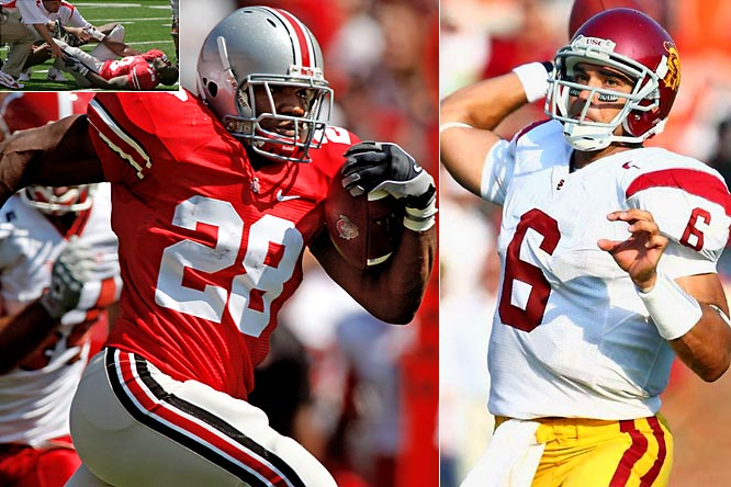 This epic matchup in Week 3 could go a long way in deciding this season's national champion. The Buckeyes hope star running back Beanie Wells will be able to play in the game following a Week 1 foot injury.