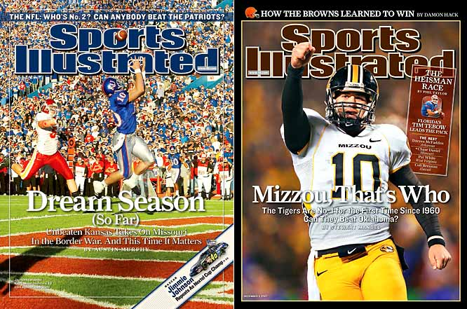 Missouri and Kansas were two of the biggest surprises of 2007, but the Big 12 title still went to a Big 12 South team, Oklahoma. Can a team from the North stake its claim to the conference title for the first time since Kansas State in 2003?