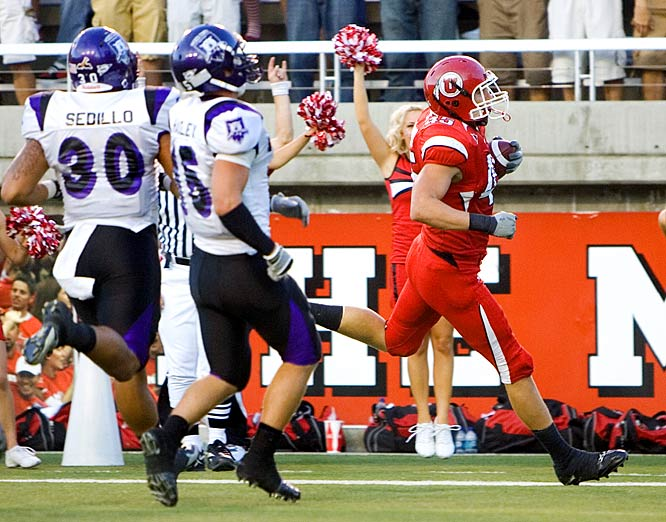 Before preparing for the rising Oregon State Beavers, the Utes dismissed Weber State.