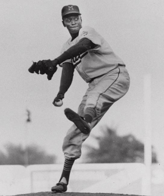 At the alleged age of 60, Satchel Paige becomes the oldest player ever to appear in a major league game. Pitching for the Kansas City A's, he blanks the Red Sox for three innings striking out one and giving up just one hit to Carl Yastrzemski.