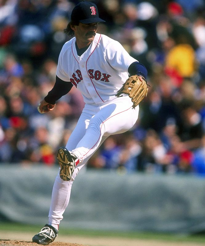 In a 5-2 loss to the Orioles at Fenway, Red Sox reliever Dennis Eckersley pitches in his 1,071st game, breaking Hoyt Wilhelm's major league mark for the most career pitching appearances.