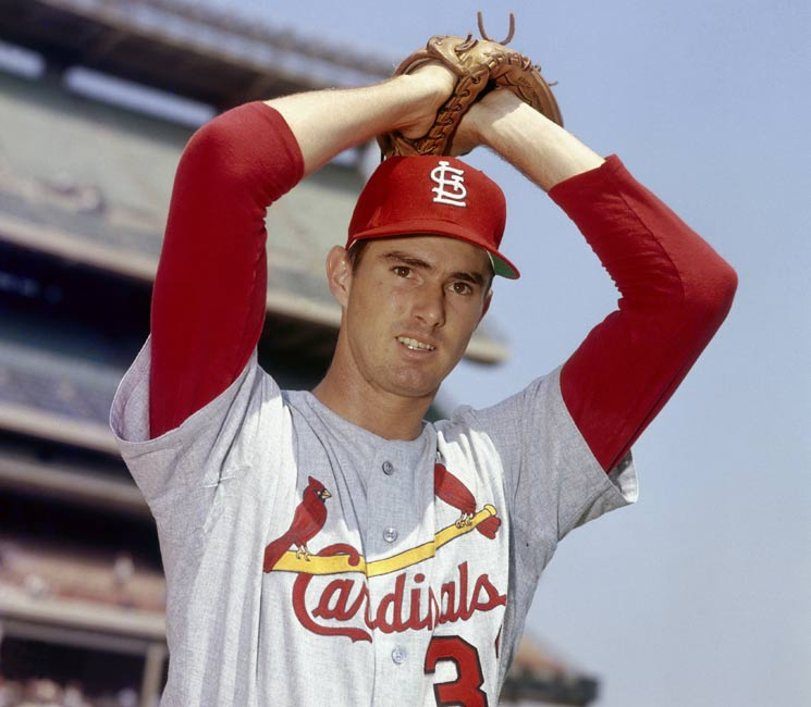 Cardinal hurler Steve Carlton fans 19 batters, including three in the ninth, to establish a new a new major league mark for strikeouts in a single game, but loses the game to the Mets, 4-3.