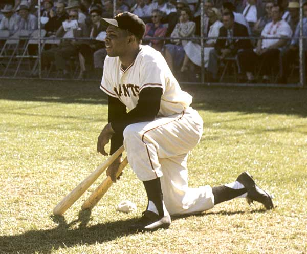 Joining Yankee legend Babe Ruth, Willie Mays became the second major leaguer to hit 600 home runs when he went yard on Padres hurler Mike Corkins in the Giants' 4-2 victory on Sept. 22, 1969.