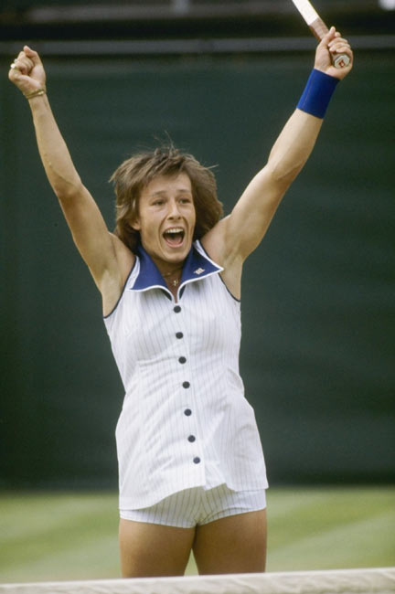Czech tennis ace Martina Navratilova asks for political asylum in New York City. She would later became an American citizen.