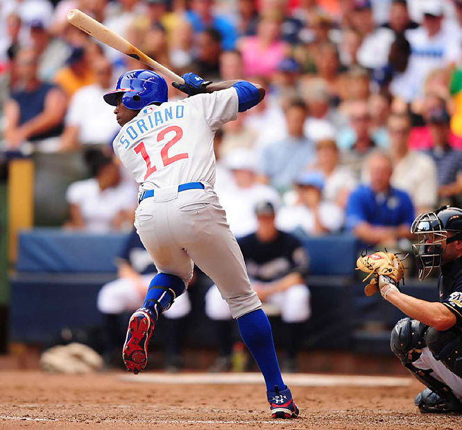 Maybe he's not your idea of a typical leadoff man, but he gets on base (.354), he can steal a bag or two and he has power (29 homers, 26 doubles) to change a game around. The hop in the outfield, we can do without.
