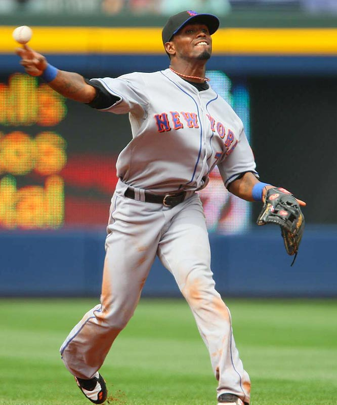 If the Mets truly go the way their speedy leadoff hitter and shortstop goes ... well, he'd better get going. And fast. After 19 games in September, his .247 average and.319 on-base percentage have the Mets stuck in the mud.