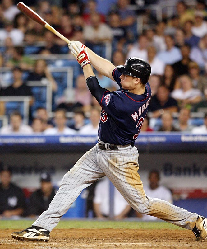 An MVP in 2006, Morneau is in the discussion again this year. His second half has not been as good as his first but, overall, without his 23 homers and 128 RBIs, both he and the Twins would be an afterthought.