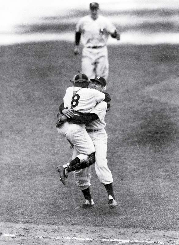 Don Larsen's perfect game in 1956.