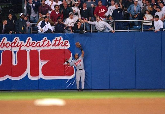 Jeffrey Maier's catch in 1996.