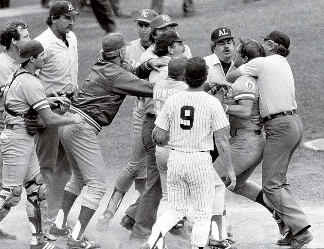 George Brett and the Pine Tar Game in 1983.
