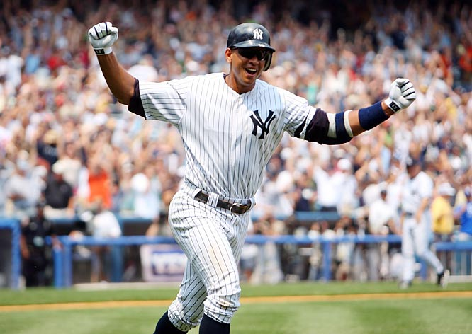 A-Rod's 500th home run in 2007.