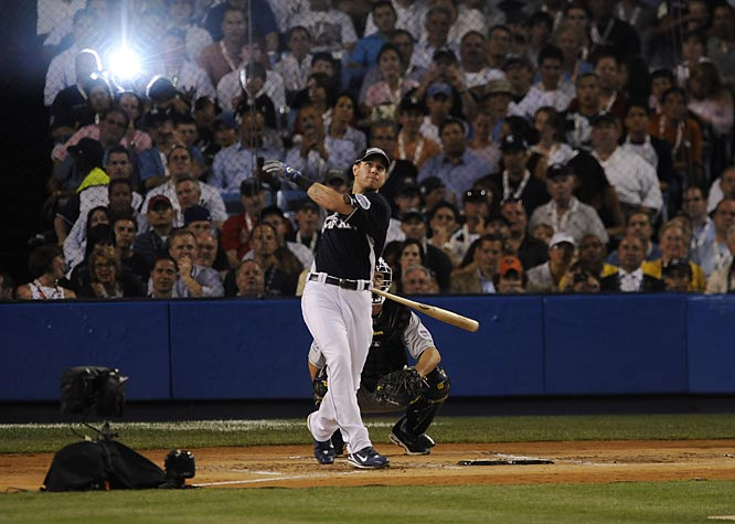 Josh Hamilton's Home Run Derby in 2008.