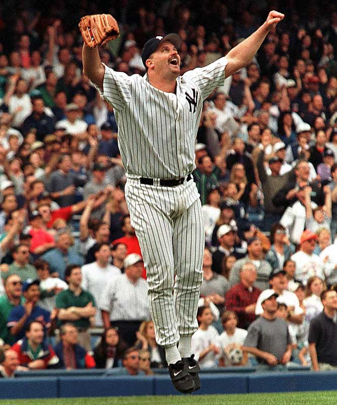 David Wells' perfect game in 1998.