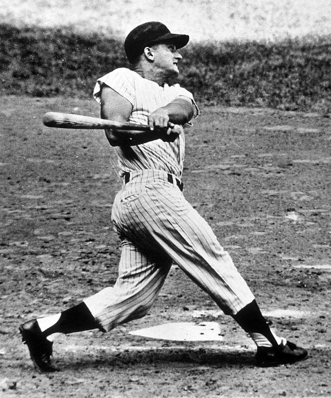 Roger Maris' 61 home runs in 1961.