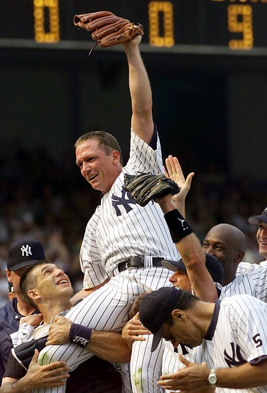 David Cone's perfect game in 1999.