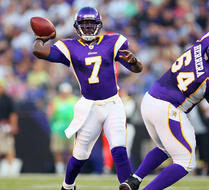 The Vikings appear to have a championship team in the making, but their biggest question mark is at quarterback. Although Jackson led the team to eight wins in his first season as a starter, he only completed 58% of his passes, and had 12 interceptions. Jackson will have to significantly improve on those numbers for the Vikings to make a deep run in the playoffs.