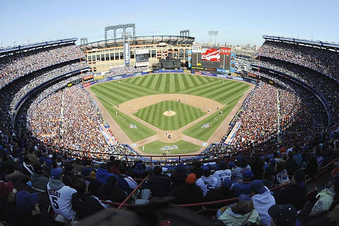Oh yeah, I almost forgot. Shea Stadium also stages its last regular-season game this week. If you were wondering what happened to all the tributes for the 44-year old stadium, they were probably drowned out by the cheers of Mets fans who've been waiting 40 years to implode the place.