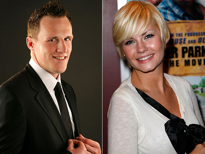 "Calgary Flames defenseman Dion Phaneuf now has something to do with his actress girlfriend Elisha Cuthbert in the offseason. He was named as the cover athlete for EA Sports' ""NHL 09"" and said he wouldn't mind taking on his girlfriend, who is from Calgary, in a virtual game, although he doubts the cover will make him any more wanted by the paparazzi, which took pictures and video of the couple while they vacationed in Maui in May. ""It's a big part of the business that she's in and it's something you have to deal with,"" Phaneuf told me. ""We had a good summer and traveled a little bit. I know the paparazzi is a big part of her business, but that's on the outside of our relationship. You just live your life."""