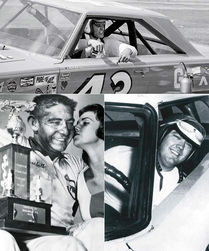 "NASCAR's trinity, these drivers -- Glenn ""Fireball"" Roberts, Junior Johnson and Richard Petty -- were the ones who laid the tracks for today's Cup mega-stars. With 283 wins between them, they were NASCARs first leading men, the ones who helped establish the sport in American popular culture. Roberts was the daredevil, a fast man beloved by fans. Johnson was the moonshiner, a driver with roots in NASCAR's law-breaking past who helped catapult it into the modern age. And Petty was simply the greatest of them all, a winner who spent his free time selling the sport he loved to fans and media alike."